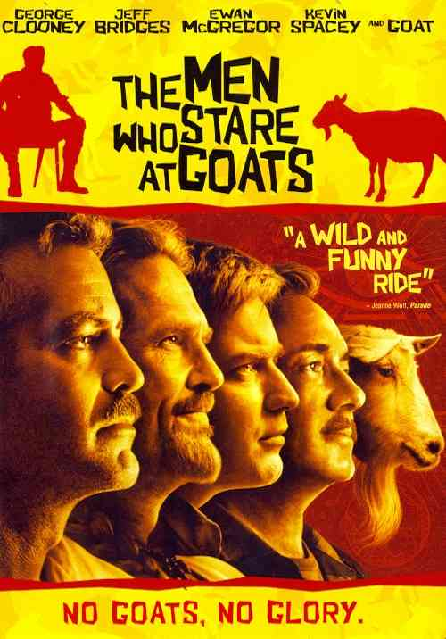 MEN WHO STARE AT GOATS BY CLOONEY,GEORGE (DVD)
