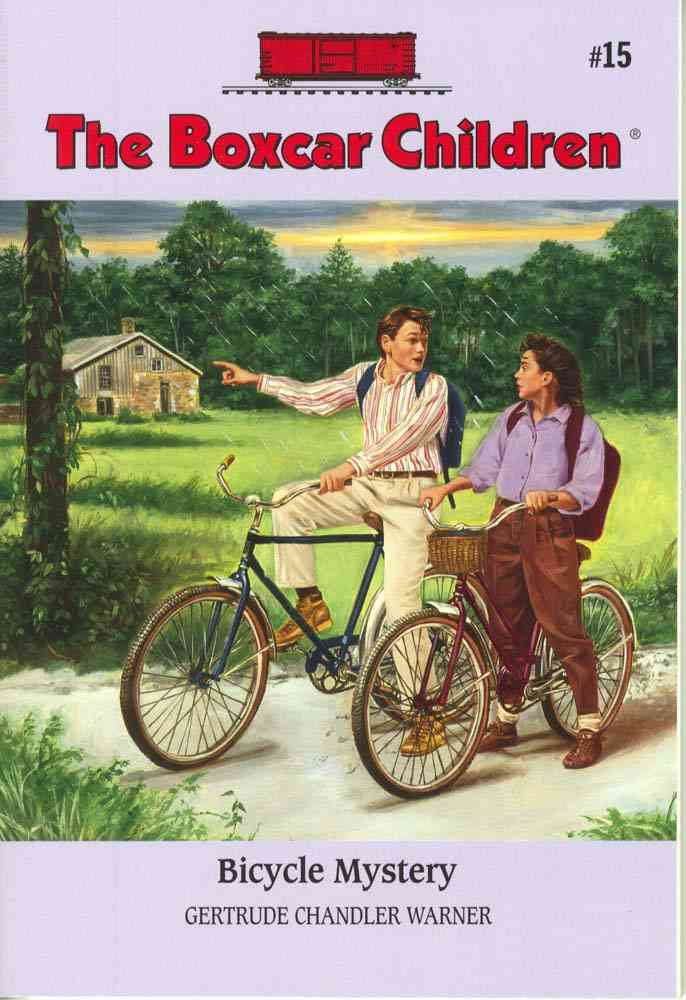 Bicycle Mystery By Warner, Gertrude Chandler/ Cunningham, David (ILT)